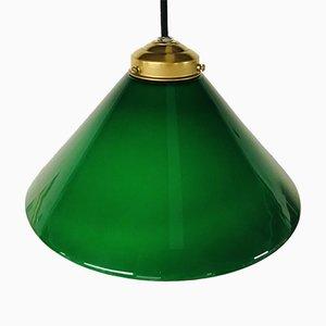 Art Deco Glaslampe