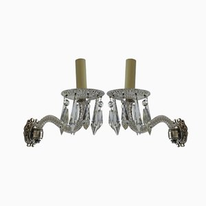 Single Arm Sconces, 1870s, Set of 2