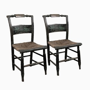 Lambert Hitchcock Chairs, Set of 2