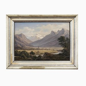 Tyrol View, Oil on Canvas