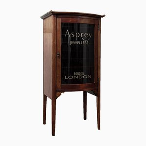 Mahogany Asprey Display Cabinet
