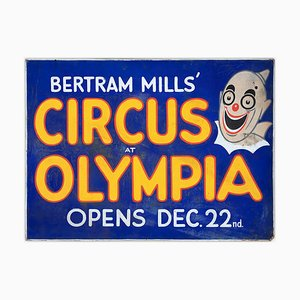 WE Berry, Circus at Olympia Poster