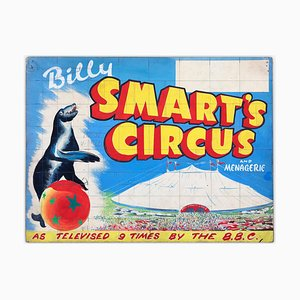 W.E. Berry, Billy Smart's Circus & Menagerie Poster