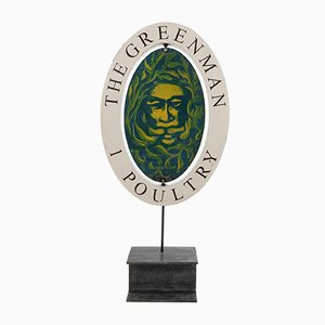 The Green Man Schild
