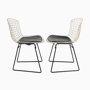 Model 420 Side Chairs by Harry Bertoia, Set of 4