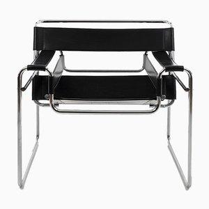Wassily Modell B3 Stühle von Marcel Breuer, 1989, Set o 2