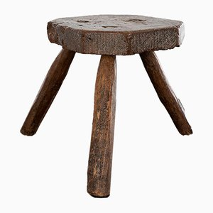 Welsh Milking Stool, 19th Century