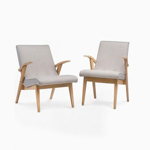 Type 300-123 Puchały Armchairs, 1950s, Set of 2