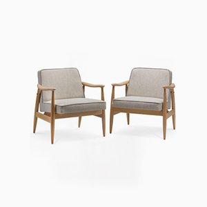 Type 300-203 GFM-87 Armchairs, 1970s, Set of 2