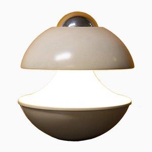 Weiße Vintage Kaskaden-Tischlampe von Klaus Hempel für Massive Lighting