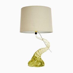 Italian Murano Glass Table Lamp, 1960s