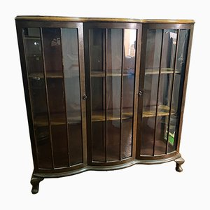 Vintage Walnut Showcase