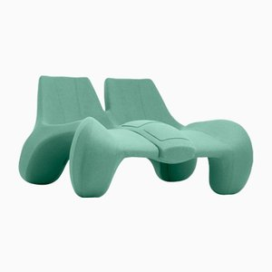 DC 112 Double Chaise Longue Color Kvadrat 937 by Atelier Jungblut