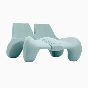 DC 112 Double Chaise Longue Color Kvadrat 813 by Atelier Jungblut