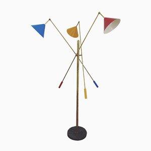 Floor Lamp in the style of Stilnovo, 1990s