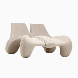 DC 112 Double Chaise Longue Color Kvadrat 213 by Atelier Jungblut