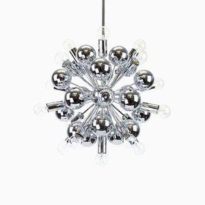 Großer Chrom Sputnik Kronleuchter von Cosack Leuchten, 1970er