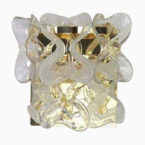 Große Murano Glas Catena Wandlampe von Carlo Nason für Kalmar, 1960er