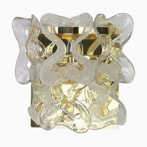Large Murano Glass Catena Sconce by Carlo Nason for Kalmar, 1960s