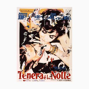 Silkscreen and Collage, Mimmo Rotella, Tender Is the Night