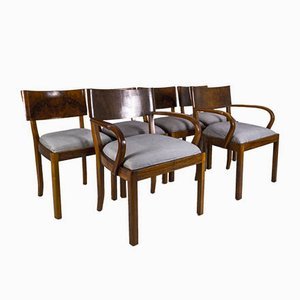 Model 569 Dining Chairs by Hans Hartl for Deutsche Werkstätten Hellerau, Deutschland, 1940s, Set of 6