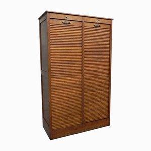 Oak Shutter Box, 1930s