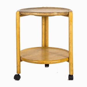 Vintage Wooden Serving Trolley
