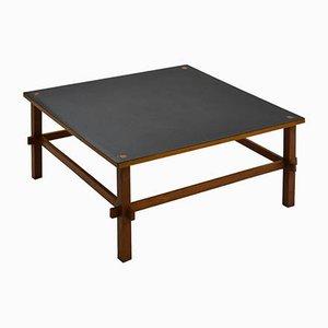Tavolino da caffè 740 in legno e laminato di Gianfranco Frattini per Cassina, anni '60
