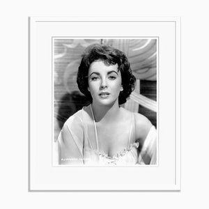 Elizabeth Taylor in Elephant Walk, Archival Pigment Print, Framed in White, Everett Collection
