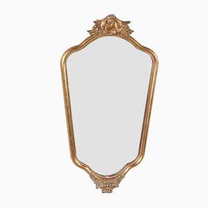 Specchio vintage dorato, Francia, anni '60