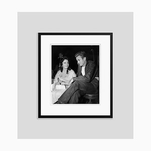 Taylor & Dean On Set, Archival Pigment, Print Framed in Black, Everett Collection
