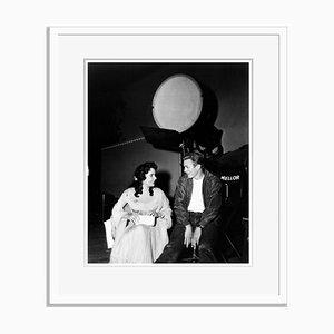 Poster von James Dean & Elizabeth Taylor, Archival Pigment, White Print, Everett Collection