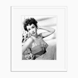 Elizabeth Taylor Fashion Shoot, Archival Pigment Print, Framed in White, Everett Collection