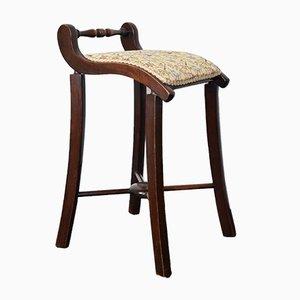 Victorian Mahogany Cello Stool