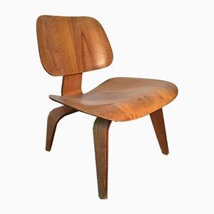 Chaise LCW en Contreplaqué par Charles & Ray Eames pour Evans Products, 1946