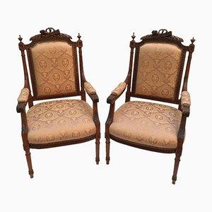 Antike Armlehnstühle, 2er Set