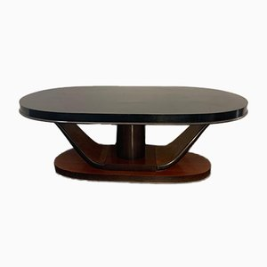 Art Deco Oval Mahogany Dining Table