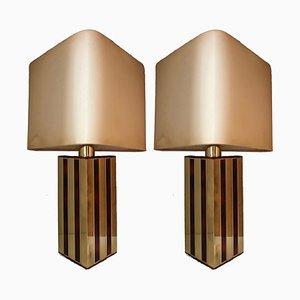 Tischlampen von Lumica, 1970er, 2er Set