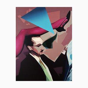 Blue Love Triangle by Radu Rodideal