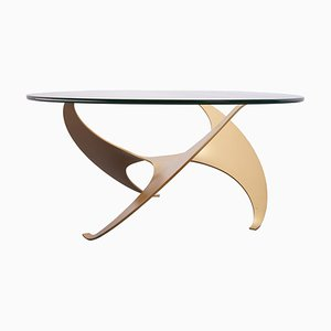 Tavolo Propeller di Knut Hesterberg per Ronald Schmitt, anni '60