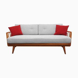 Cherry Wood Daybed by Walter Knoll, 1950s