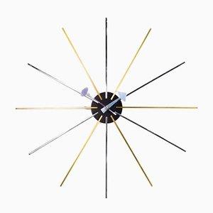 Mid-Century Star Wall Clock, 1990s