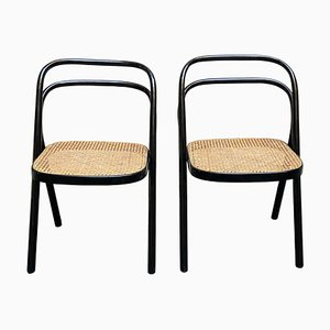 Dining Chairs from Thonet, 1950s, Set of 2