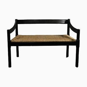 Carimate 892 Bench by Vico Magistretti for Cassina, Italy, 1960