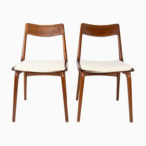 Papir Dining Chairs Model Boomerang by Alfred Christensen, 1960s