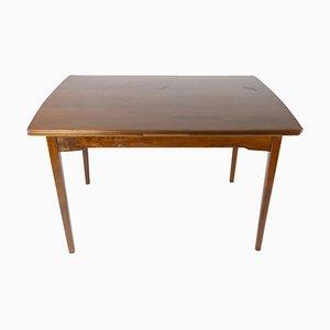 Dänischer Esstisch aus Nussholz mit Verlängerung, 1960er