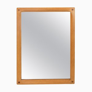 Danish Mirror in Oak from Illum, 1960s