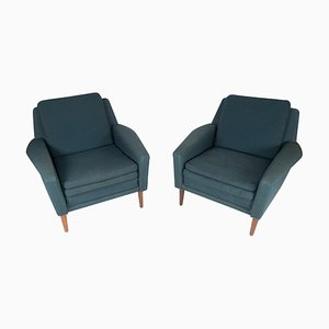 Armchairs by Fritz Hansen, 1960s, Set of 2