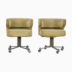 Poney Swivel Chairs by Gianni Moscatelli for Formanova, 1960s, Set of 2
