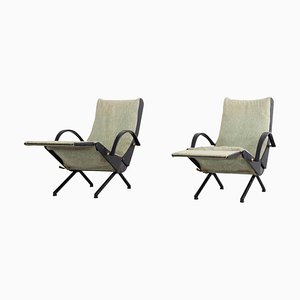 Sedie reclinabili, set di 2